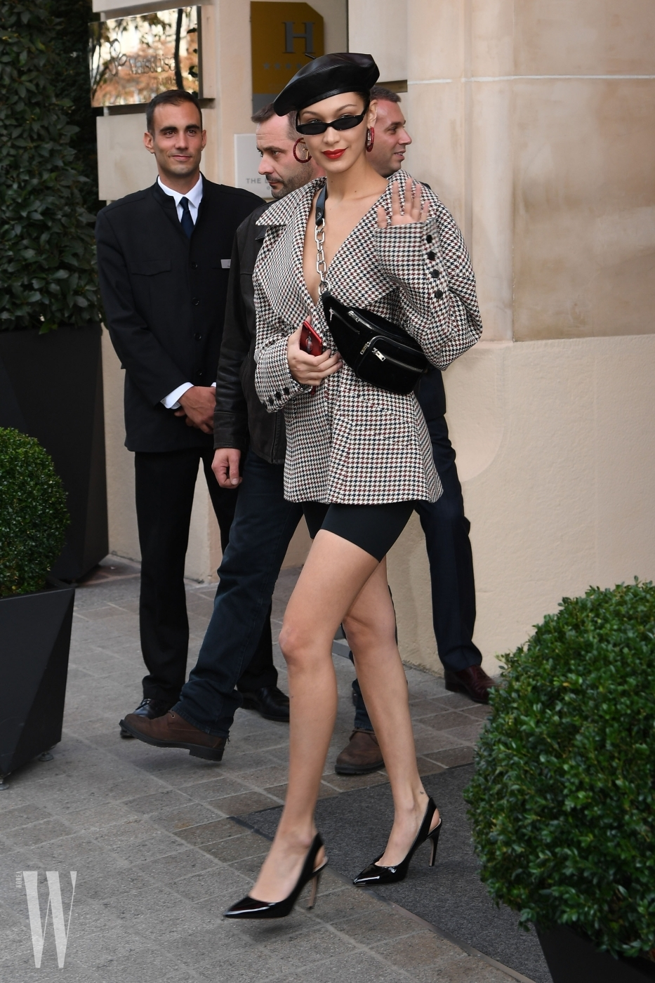 Bella Hadid Is Spotted Out And About During Paris Fashion Week