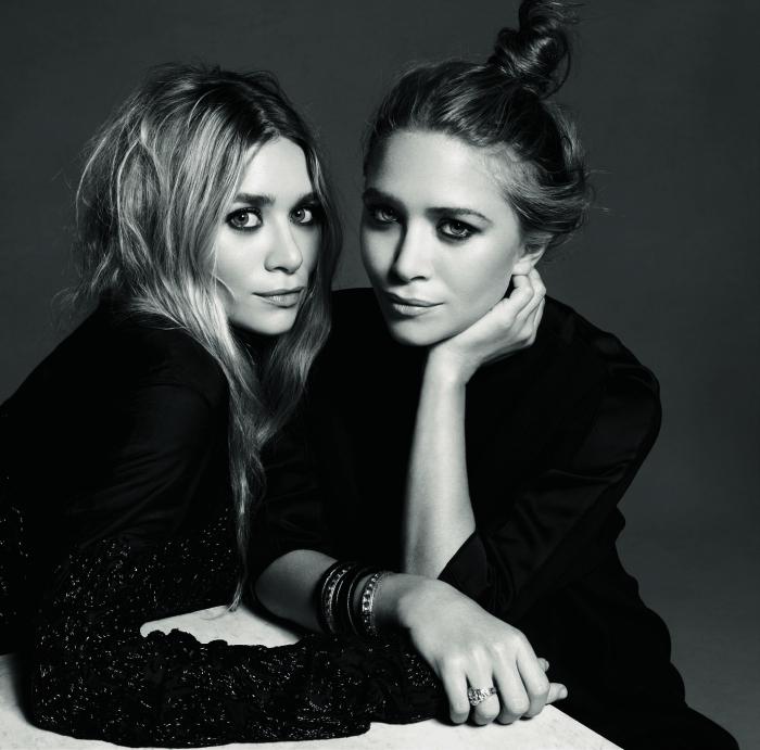 남성복을 새롭게 론칭한 더 로우의 디자이너, 메리-케이트&애슐리 올슨 자매.