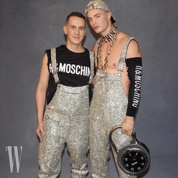 얼마 전 H&M과 협업을 진행한 모스키노의 수장 제레미 스캇은 로마 최고의 영화 세트장 '시네스타 스튜디오'에서 남자 2019 F/W 컬렉션과 여자 2019 프리폴 컬렉션을 함께 선보인다.