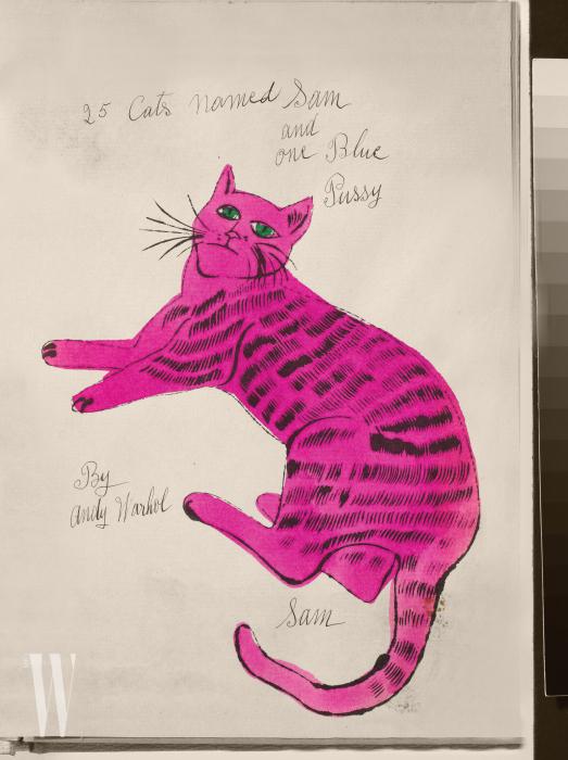 (1954). 워홀이 유명해지기 전, 패션지  디렉터에게 새해 선물로 보낸 것.