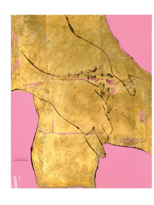 (1957). 워홀이 만나는 남성마다 신체의 비밀스러운 부분을 그려도 되는지 묻던 시기의 전형적인 작품이다.
