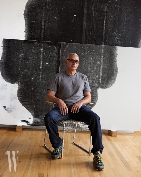 맨해튼에 있는 그의 스튜디오에서, 크리스토퍼 울.
